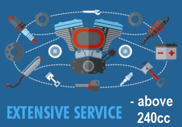 Extensive Service dirt