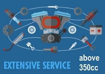 atv extensive service 350