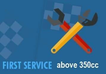 atv first service 350
