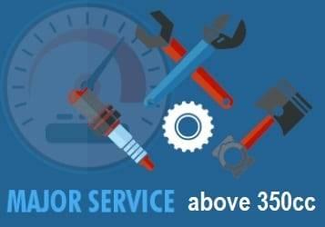 atv major service 350