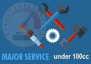 atv major service 100
