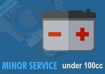 atv minor service 100