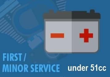 first major Service dirt under 51